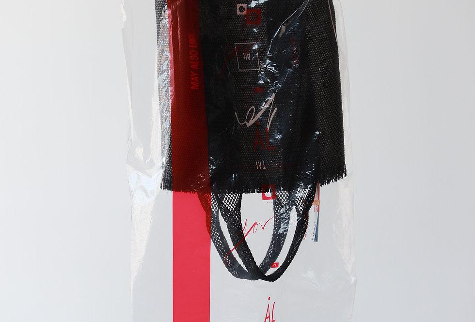 AL HAND BAG(01) BLACK
