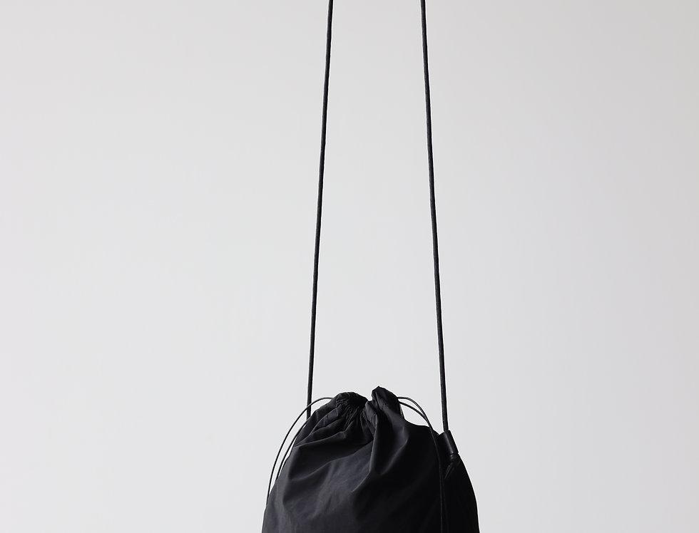 irose POCKETABLE MINI SHOULDER BAG -BLACK-