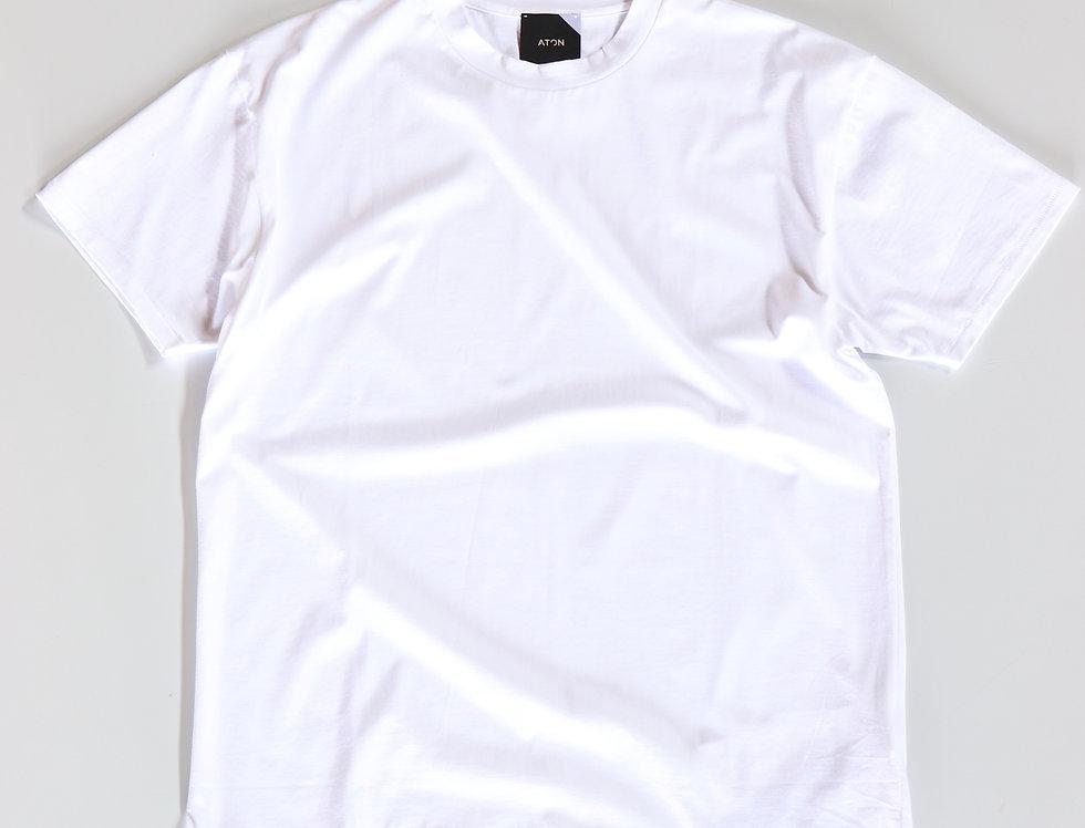 ATON SUVIN60/2 OVERSIZED T-SHIRT(unisex) -WHITE-
