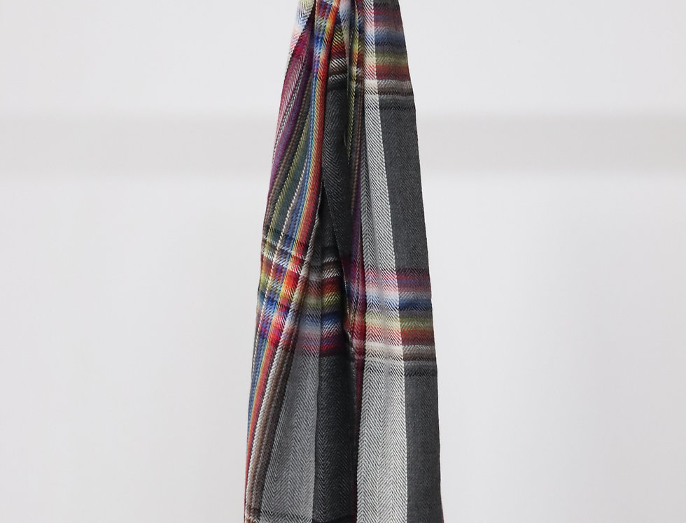 THE INOUE BROTHERS Multi Colored Stole Grey