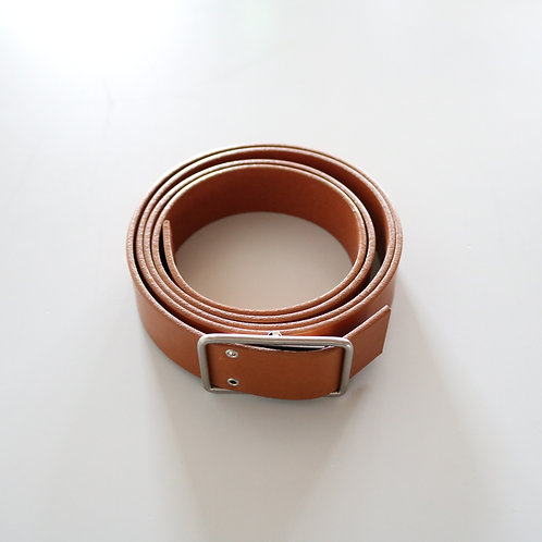 beta post LONG BELT -CAMEL-
