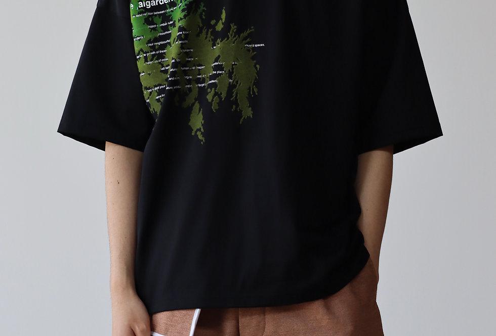 amachi. Illegalgardeners T-shirt Black
