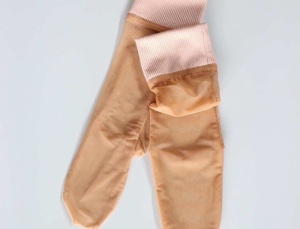 SIMONE WILD Cuff Ankle Net Socks -SKIN-