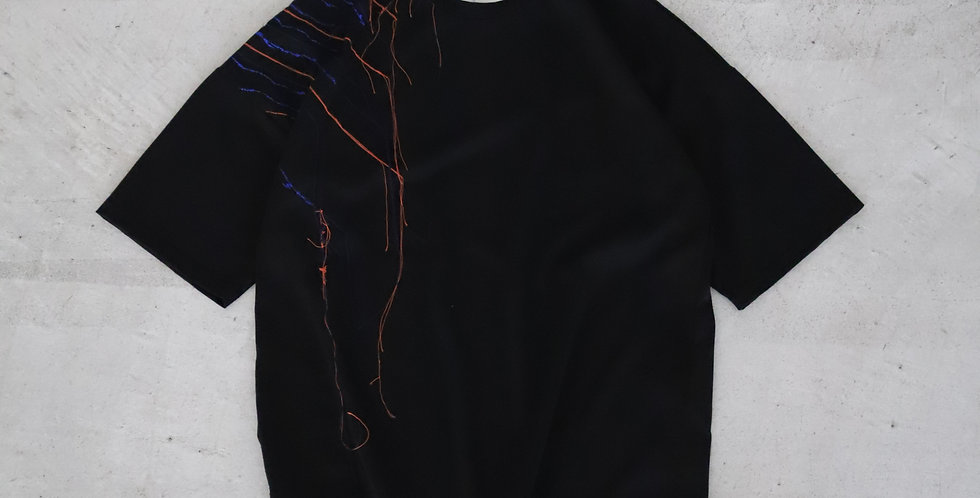 amachi. Ray T-shirt Limited Edition BLACK