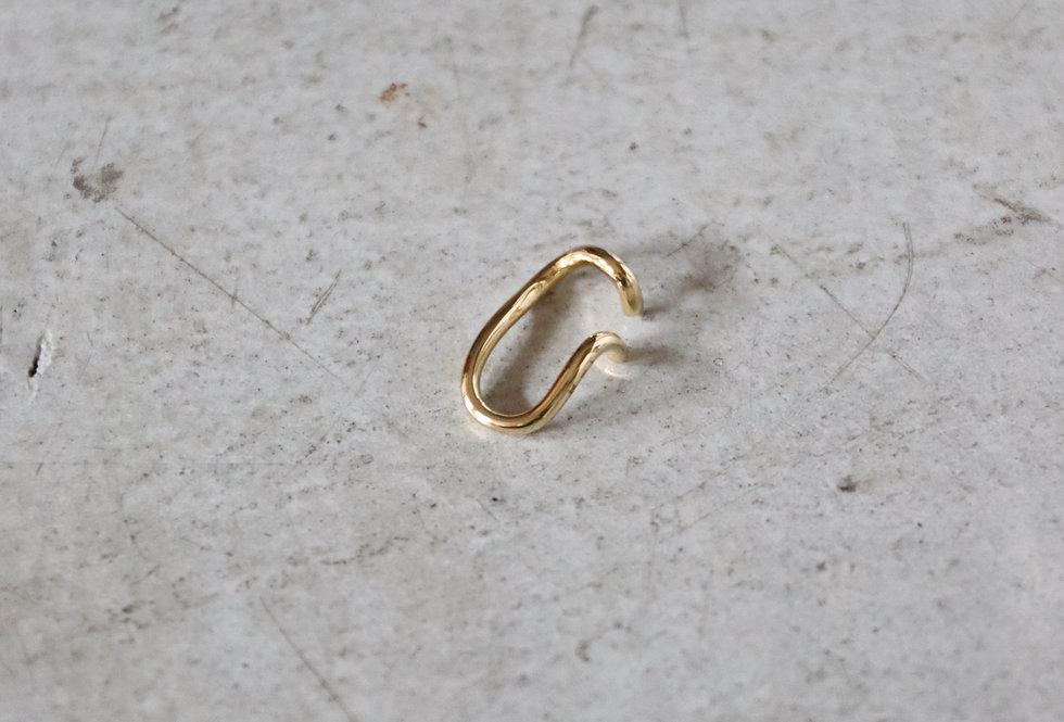 RÄTHEL & WOLF 'RIZ' cuved line ear cuff (left ear)