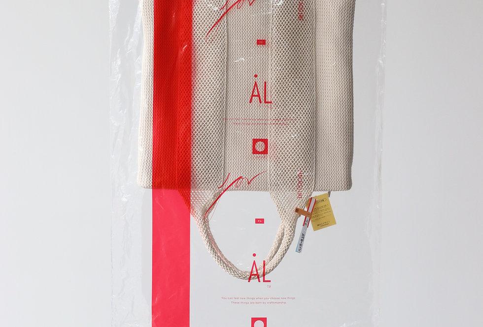 AL HAND BAG(01) OFF WHITE
