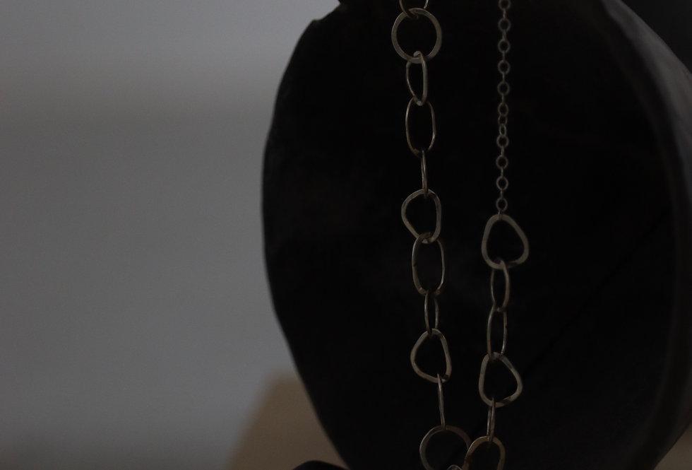 Melissa Joy Manning Silver Multi-shape Chain Bracelet