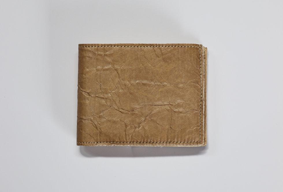 beta post Half Wallet BEIGE