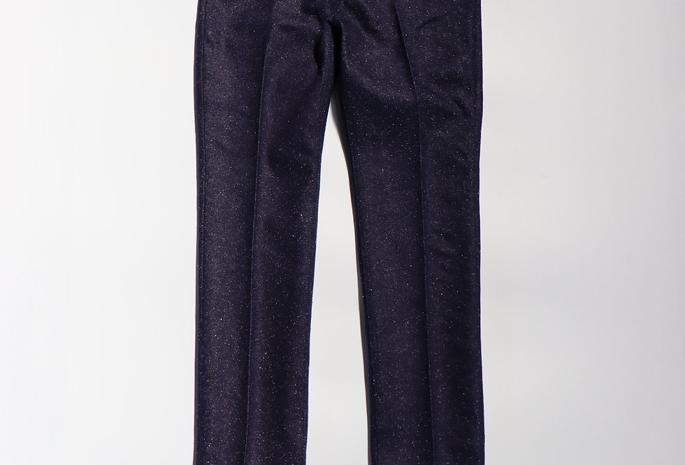 Midorikawa SILK DENIM PANTS NAVY