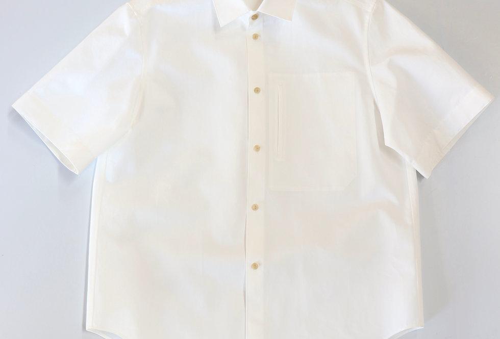 Irenisa CLASSIC SHORT-SLEEVED SHIRT WHITE