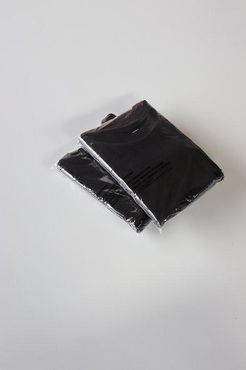 Graphpaper 2-Pack Crew Neck Tee -BLACK-