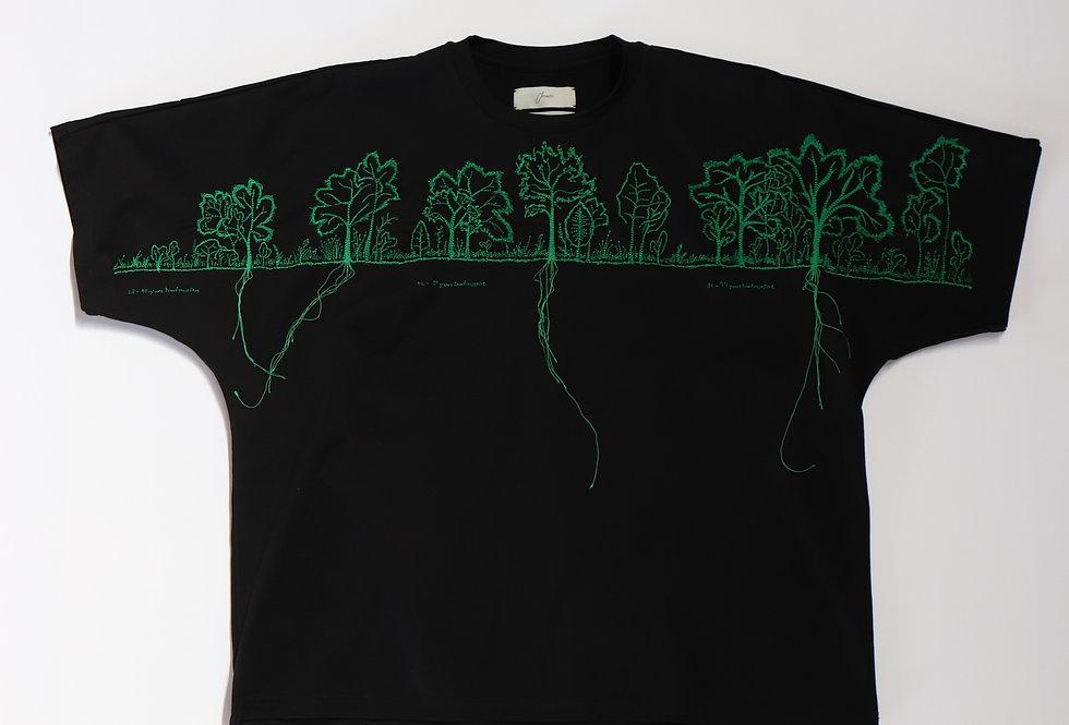 amachi. 28-77 Years T-shirt Black