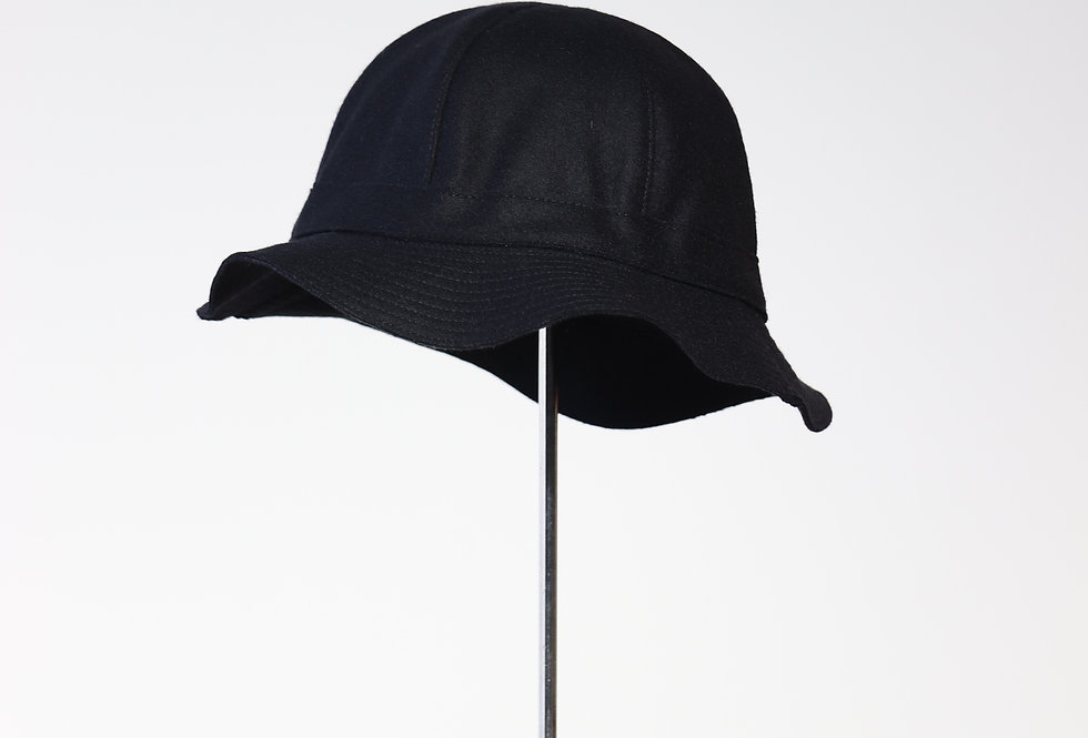 mature ha. melton metro hat BLACK