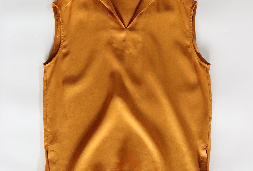 U PHORICA Sailor Collar Blouse Yellow