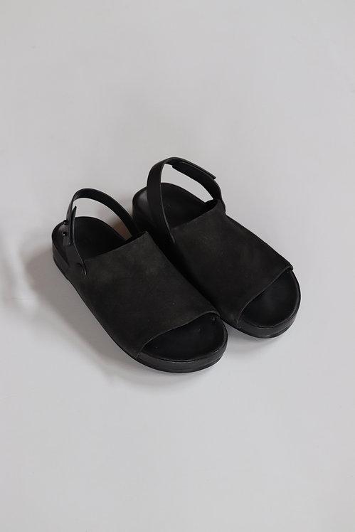 FEIT One Strap Sandal -BLACK-