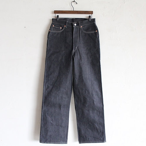 DAWSON DENIM WIDE LEG JEANS RED SELVEDGE