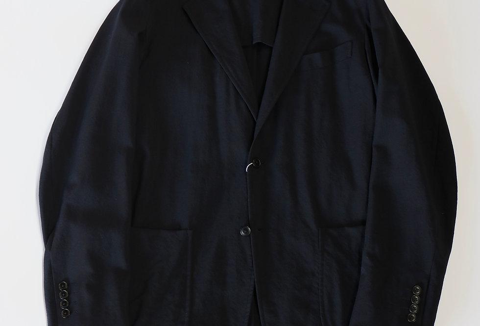 COMOLI ウール 2Bジャケット NAVY
