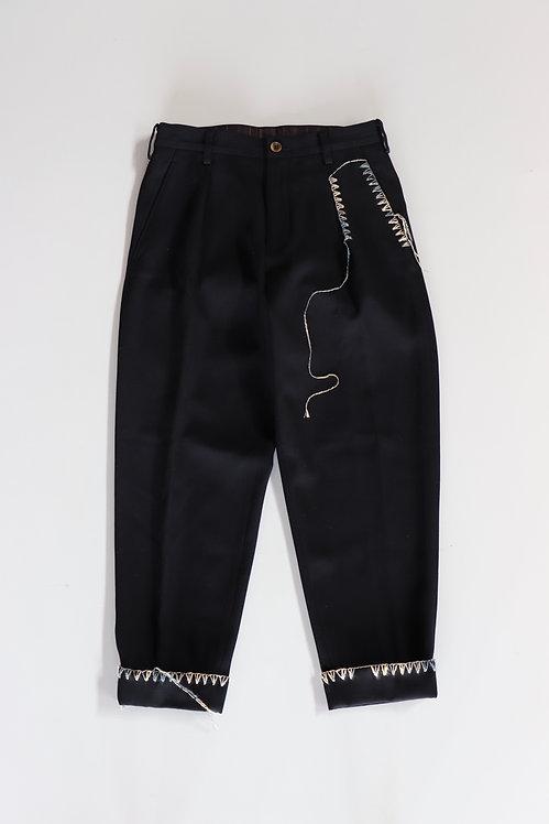KHOKI Blanket pants Navy