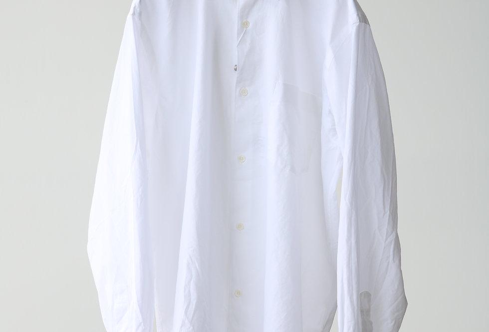 COMOLI コモリシャツ WHITE