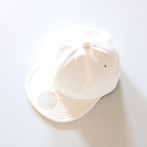 mitake×CASANOVA & Co. 6パネルキャップ -WHITE-
