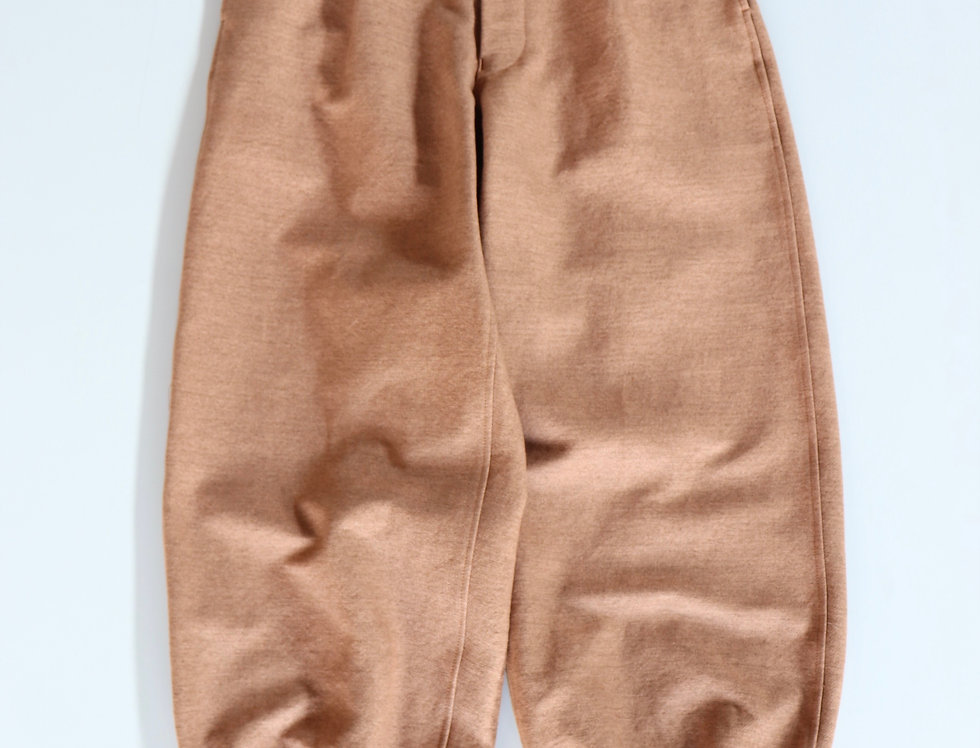 amachi. Detachable Pocket Work Pants -SOIL BROWN-