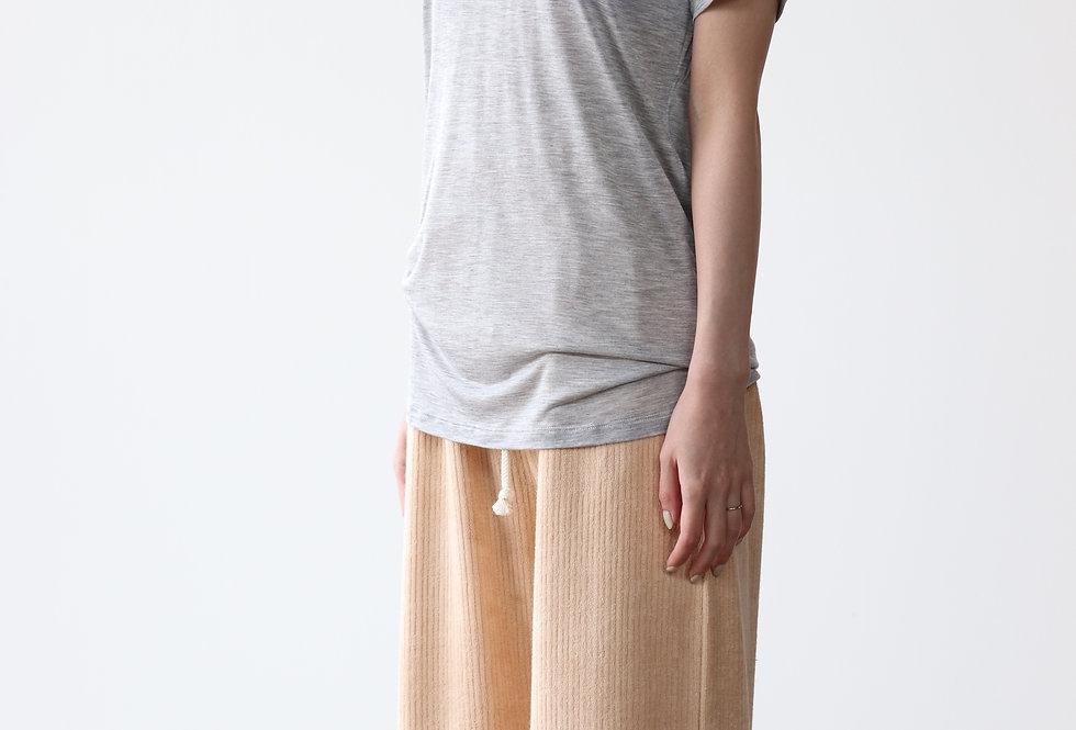 Baserange Tee Shirt Grey Melange