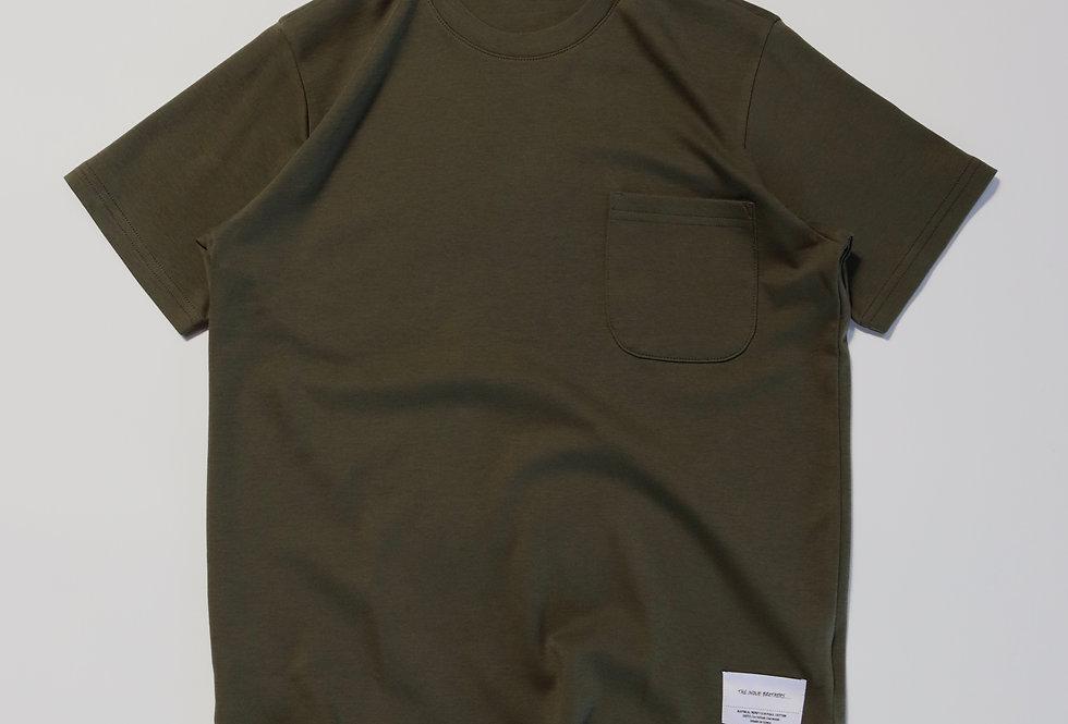 THE INOUE BROTHERS Standard pocket T-shirt KHAKI