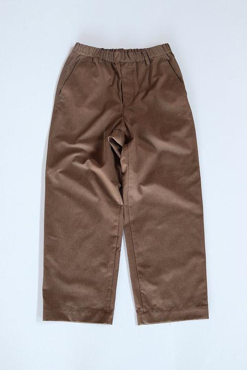HEALTH Easy Pants #3 -BROWN STRIPE-