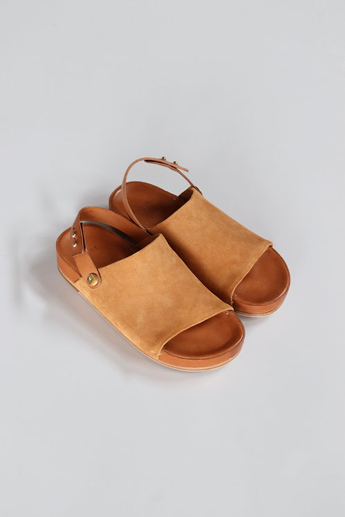 FEIT One Strap Sandal -TAN-