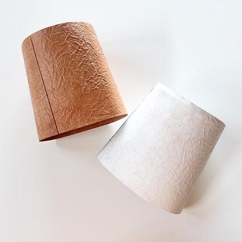 irose PAPER TRASH BASKET -l.brown・white-