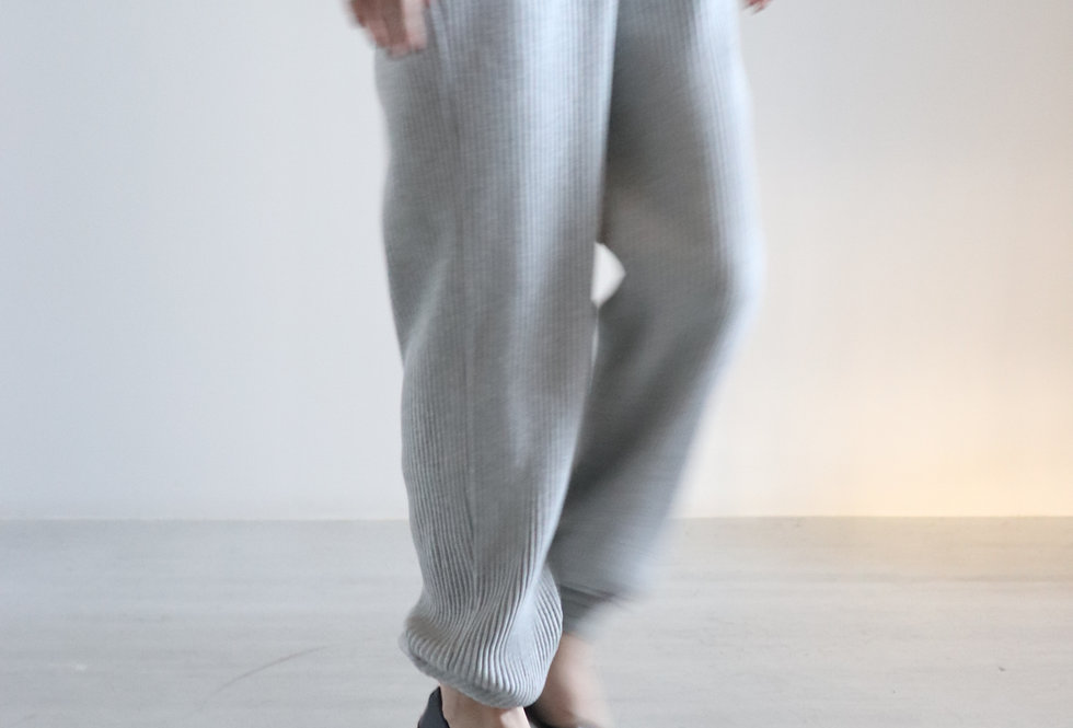 Baserange Sweat Pants Grey Melange