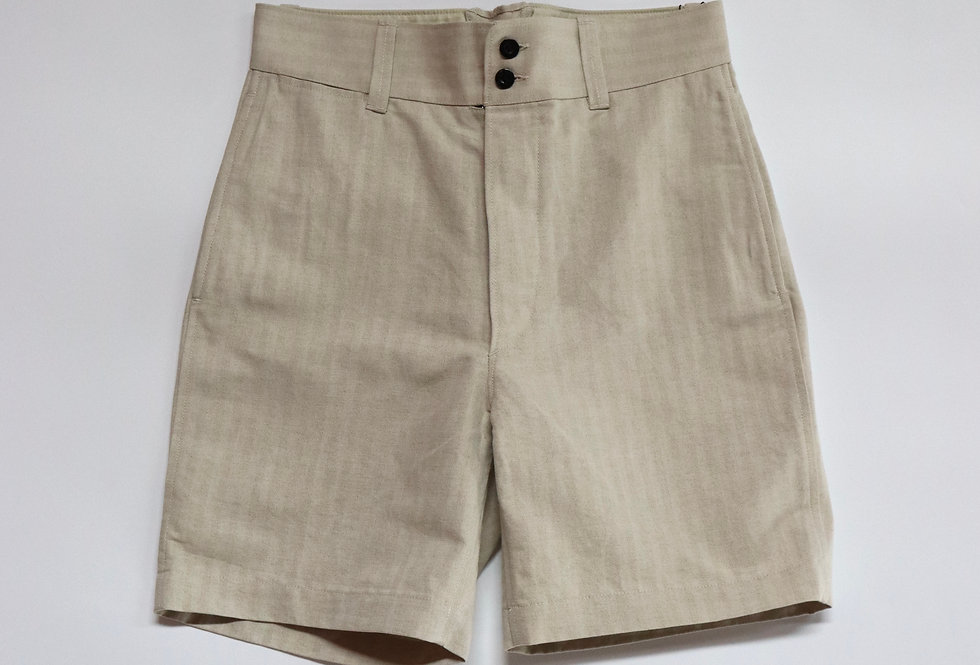 ETS.MATERIAUX ETS.FRENCH SHORTS OFF WHITE