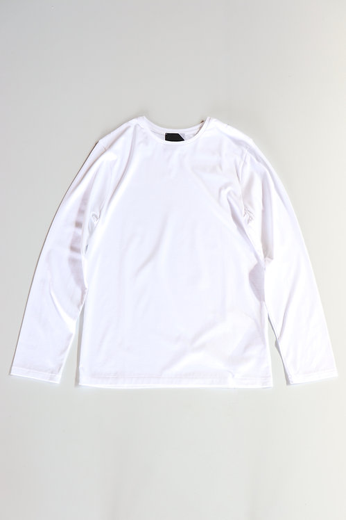 ATON SUVIN60/2 PERFECT LONG SLEEVE WHITE