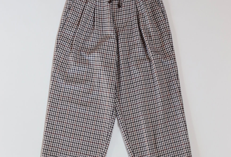 HEALTH Easy Pants #4 GRAY CHECK