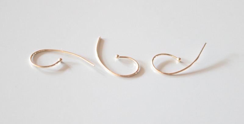 Kathleen Whitaker Loop Earring
