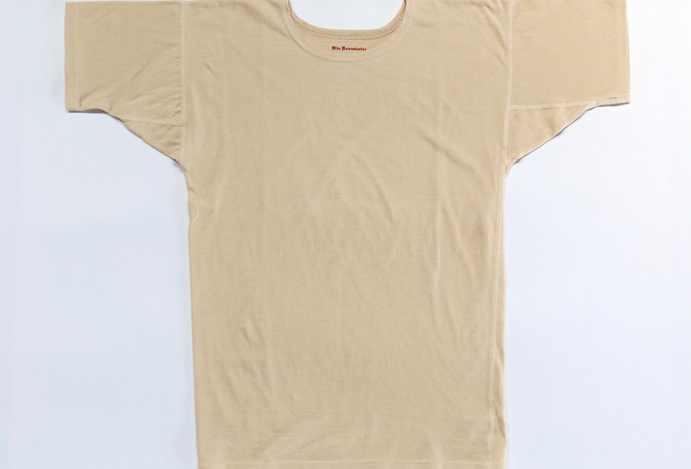 OLDE HOMESTEADER Crewneck Short Sleeve Rustic Jersey (単糸) ECRU