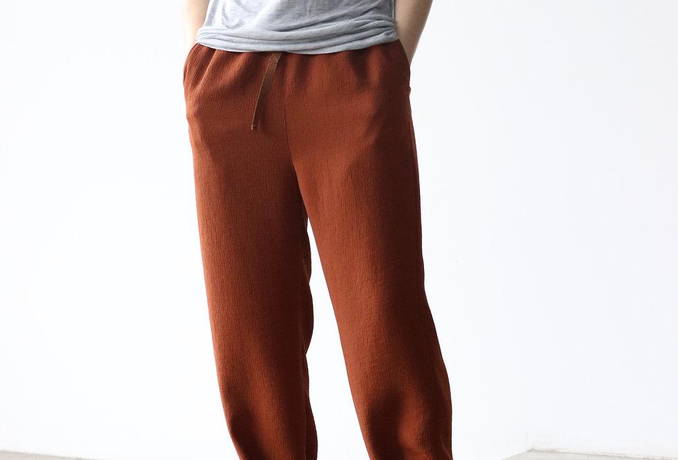 U PHORICA 2way Easy Pants Brown