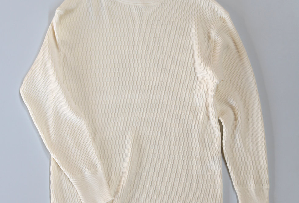 BODHI SUMMER COTTON CASHMERE TERMAL WHITE