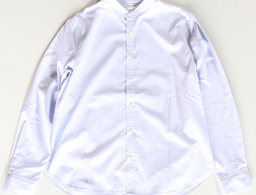 tilt The authentics Zephyr Cloth Band Collar Shirt -SKY BLUE-