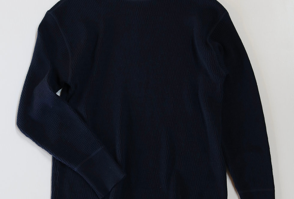 BODHI SUMMER COTTON CASHMERE TERMAL NAVY