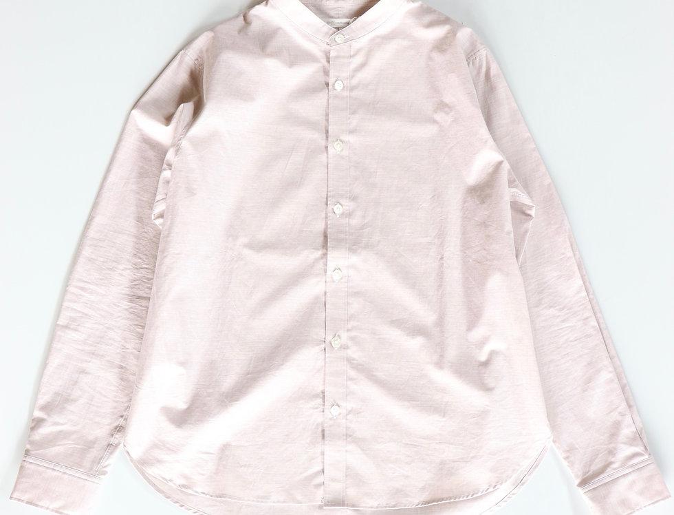 tilt The authentics Zephyr Cloth Band Collar Shirt -PINK BEIGE-