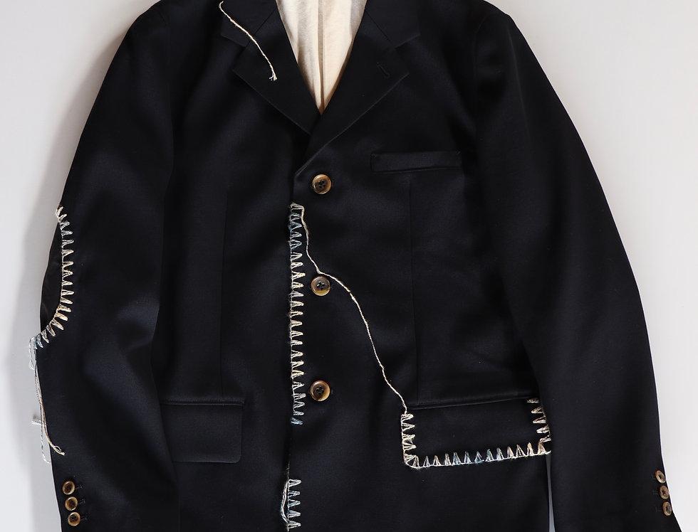KHOKI Blanket jacket Navy