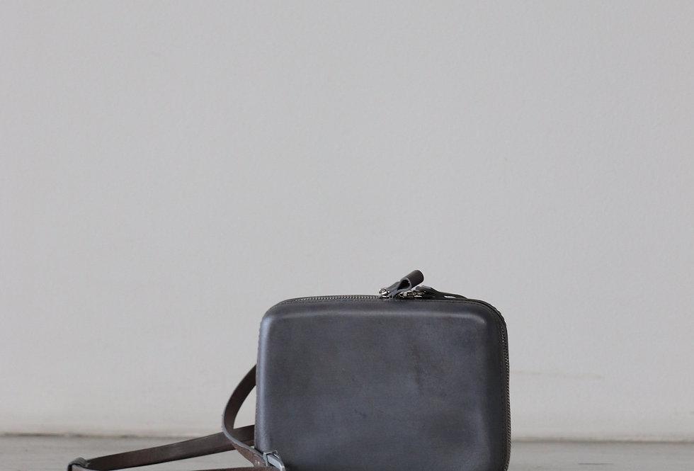 CECCHI DE ROSSI armor belt bag DARK GREY