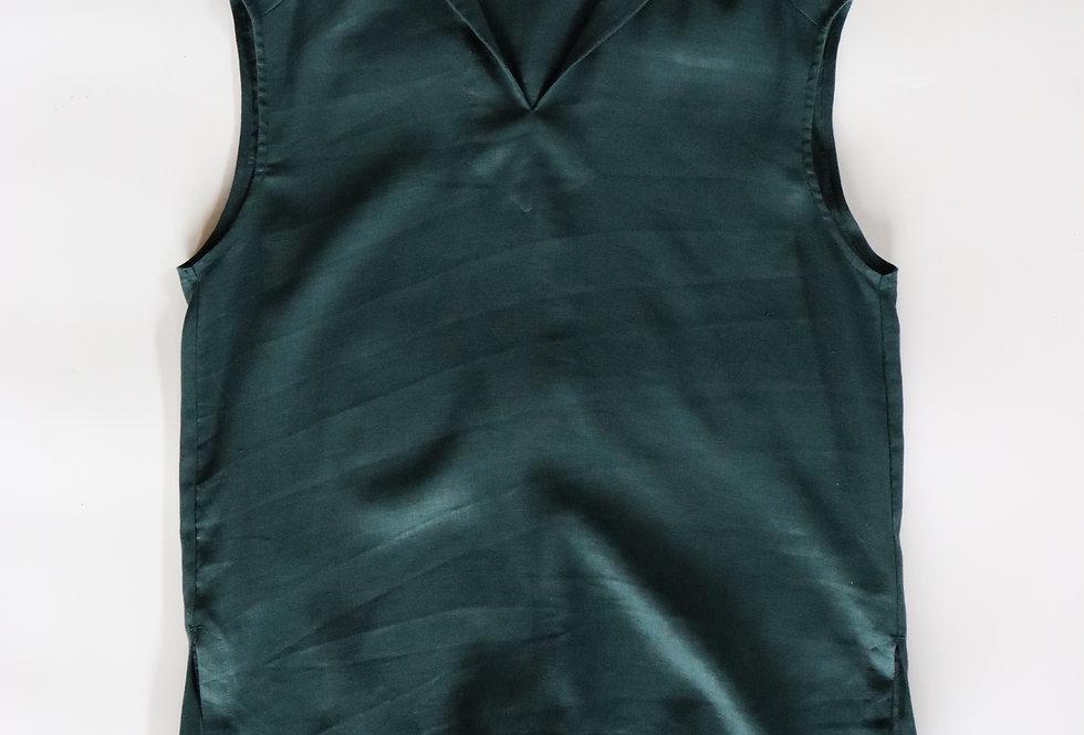 U PHORICA Sailor Collar Blouse Green