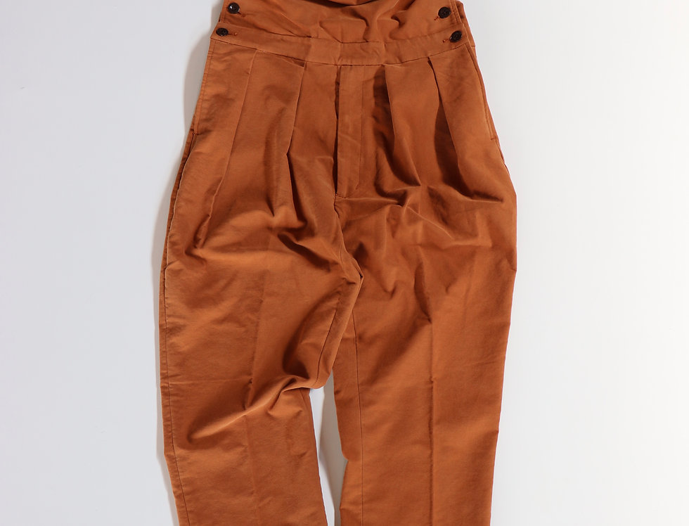 NEAT Moleskin Suede Nidom Overall Brown