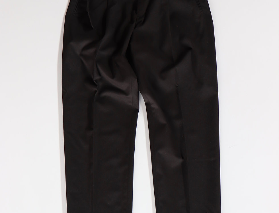 tilt The authentics Belted 1Tuck Light Trousers -BLACK-
