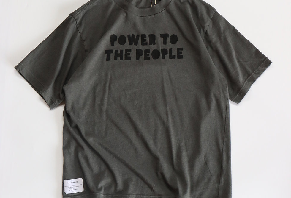 THE INOUE BROTHERS Power to the people Dark Gray