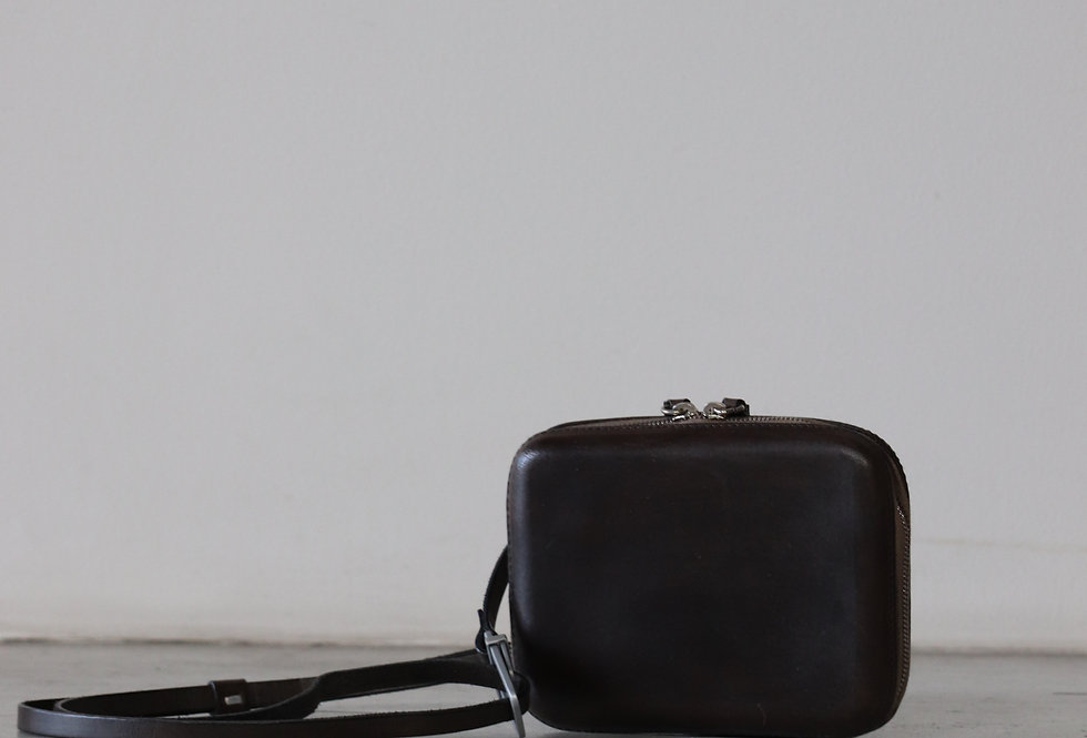 CECCHI DE ROSSI armor belt bag MIX BLACK