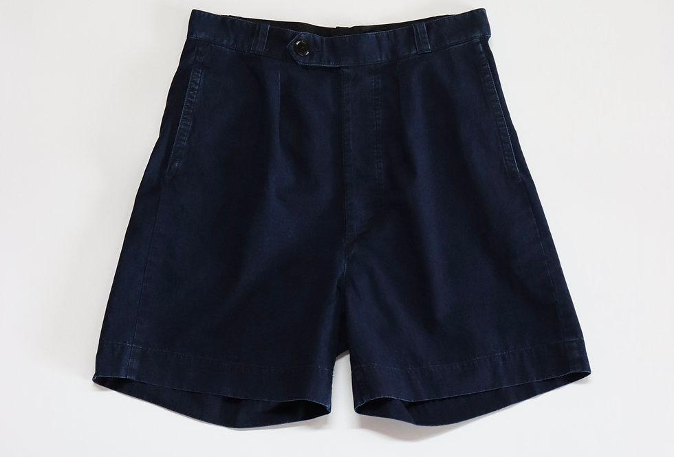 ETS.MATERIAUX ETS.Denim Shorts INDIGO BLUE