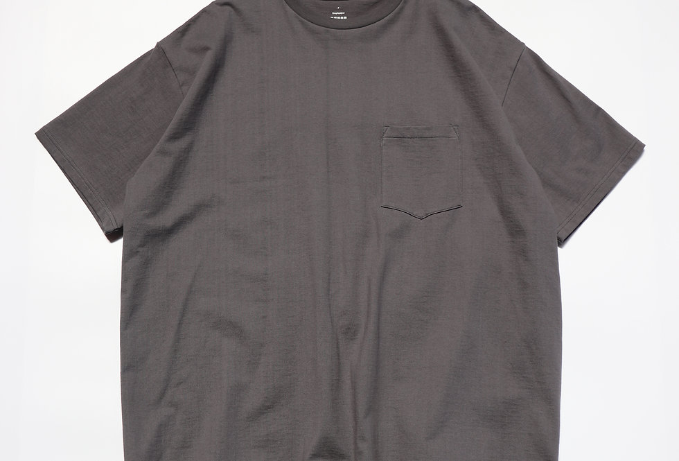 Graphpaper S/S Oversized Pocket Tee GRAY